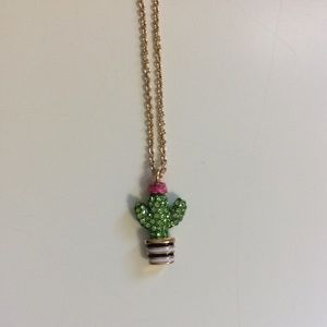 Kate Spade Scenic Route Cactus Necklace